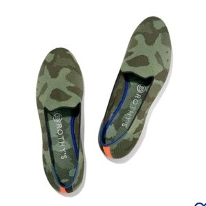 Rothys camo loafer